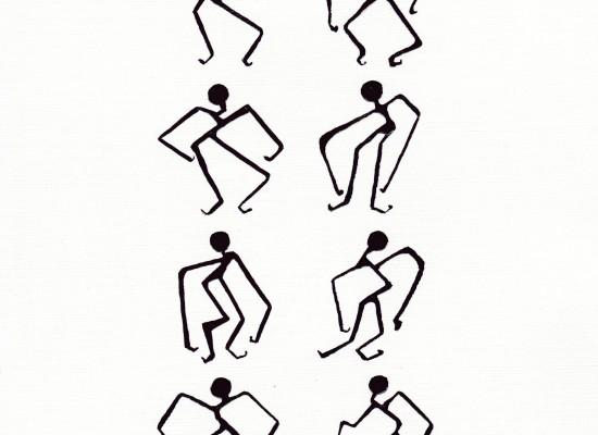 8 pensées dansantes